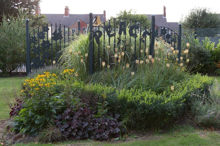 Peace Garden in Coalville Park