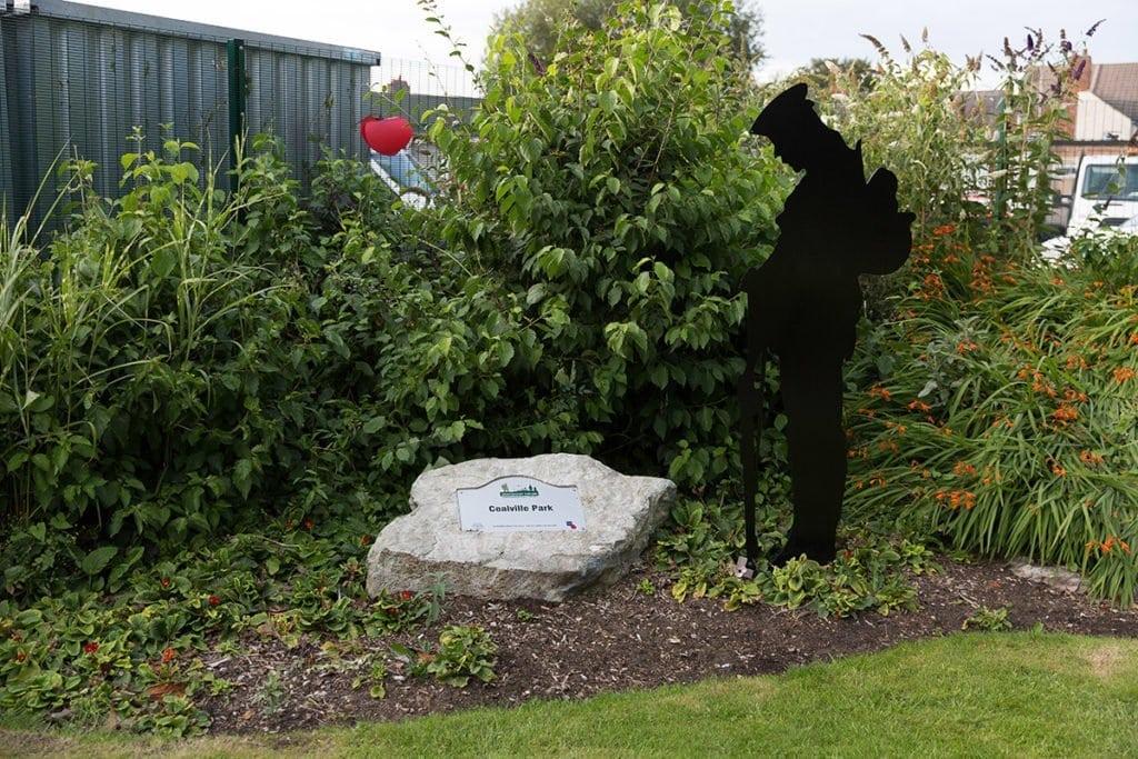 Coalville Park Peace Garden