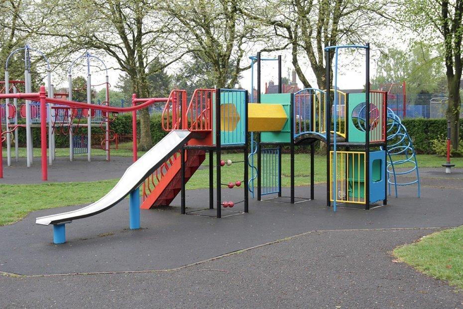Play Equipment in Coalville Park